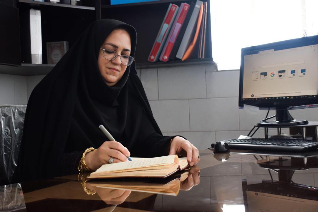 پیام تبریک شهناز هاتفی در پی افتخار آفرینی دو دانش آموز مدرسه استعدادهای درخشان فرزانگان یزد