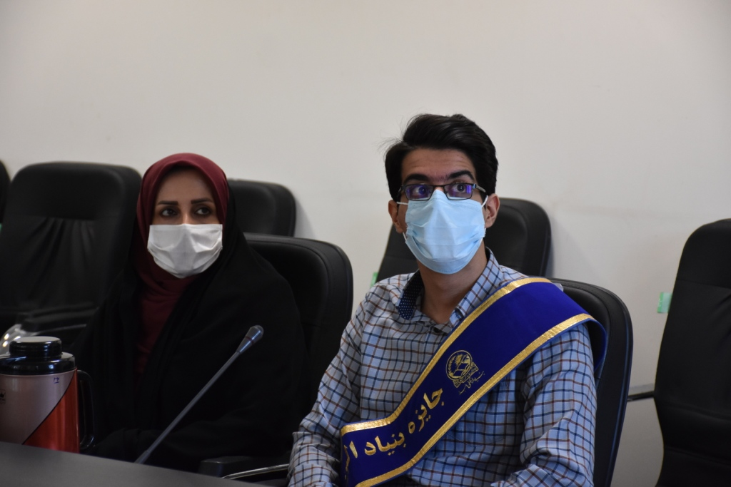 اهدا جایزه نوبل ایرانی ( بنیاد موقوفه البرز ) به 2 دانش آموز نخبه سمپادی یزدی